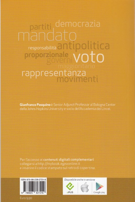Copertina B Politica e istituzioni