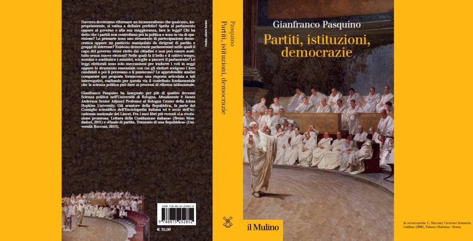 In sovracoperta: C. Maccari, Cicerone denuncia Catilina (1880), Palazzo Madama - Roma.