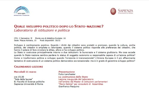 Locandina Sapienza