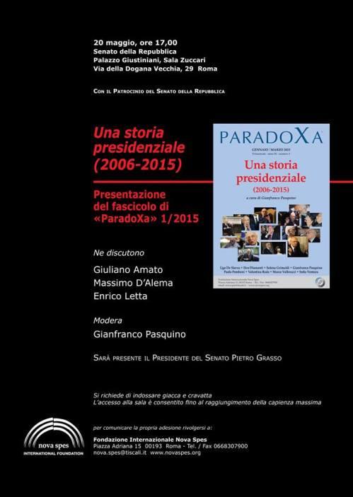 paradoxa presentazione