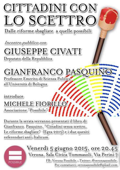 Verona Venerdì 5 giugno 2015 ore 20.45